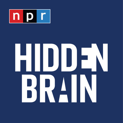Hidden Brain podcast NPR logo