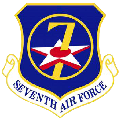 7th Air Force Logo